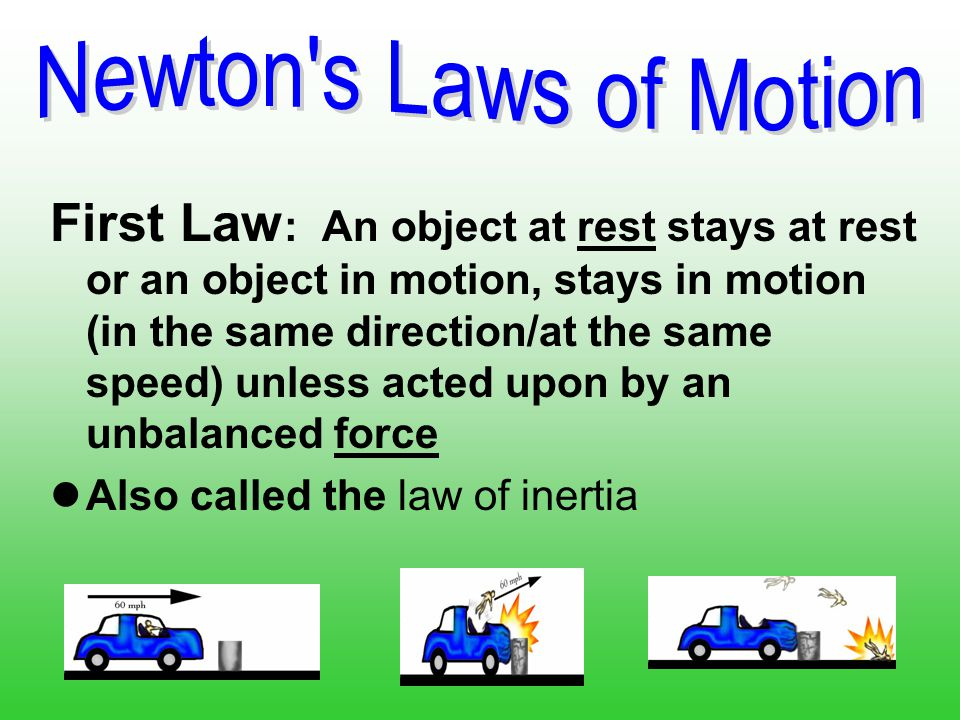 Applying Newton's Law Of Motion to Your Business
