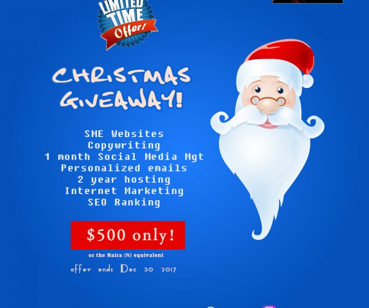 Pishon Design Studio Christmas Giveaway 2017!