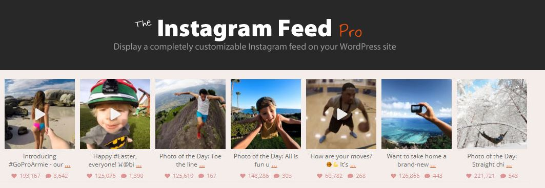 Instagram Feed by Smashballoon - best of the best Instagram plugins