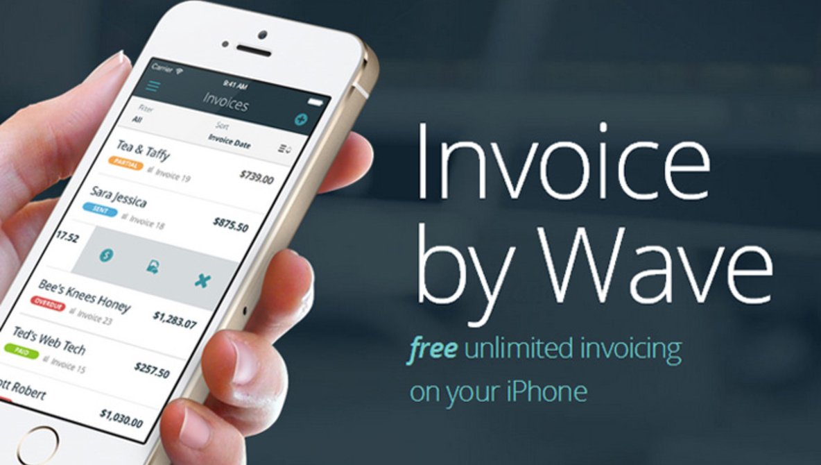 wave app invoice