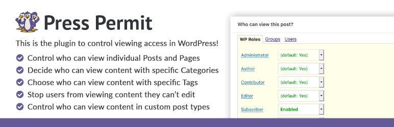 WordPress user management plugins